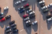 Fotografie Luftbild vom Parkplatz