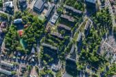 Fotografia Vista aerea della città di Olesnica