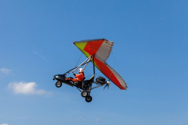 Motorized hang glider