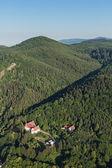 Photo Aerial view of the  Bardo town near Klodzko city