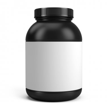 Can of protein or gainer powder