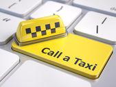 Koncepce služeb taxi online volání