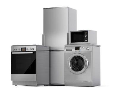 Refrigerator, washing machine, electric stove