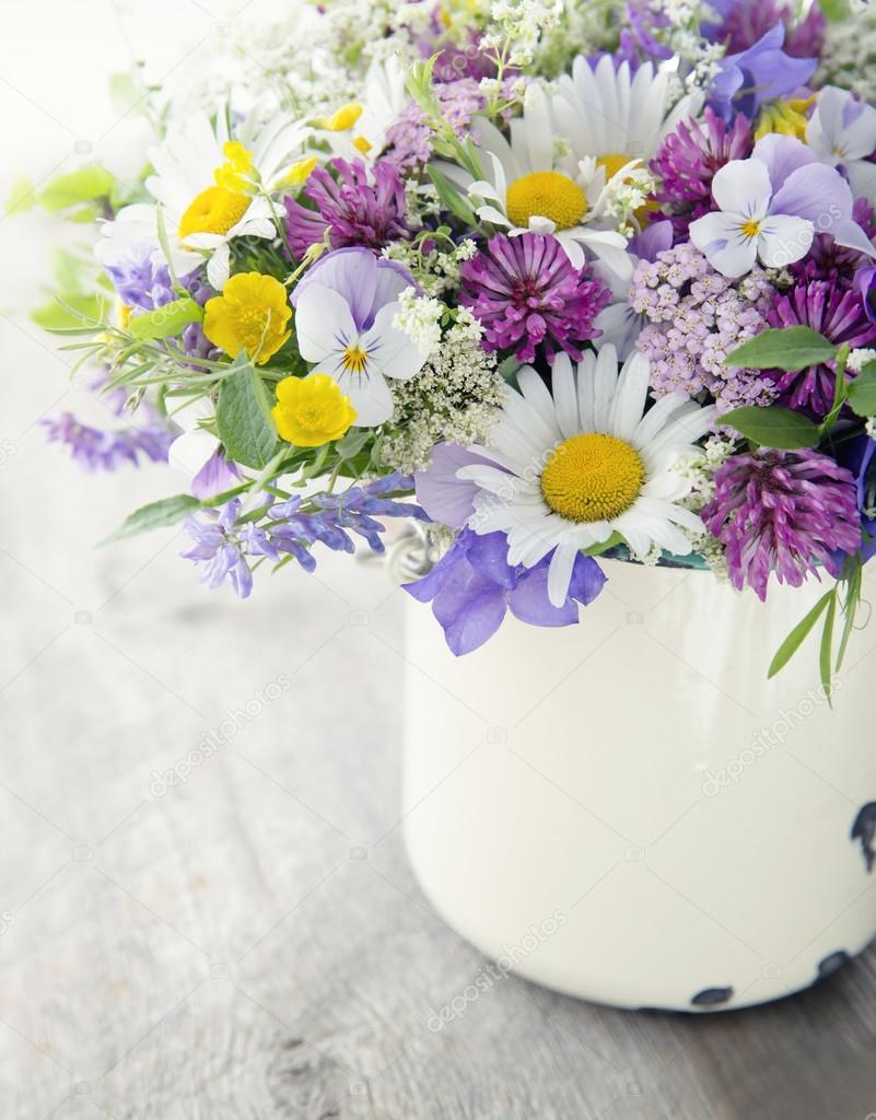 Bouquet de fleurs sauvages photographie anskuw 105010620 - Bouquet de fleurs sauvages ...