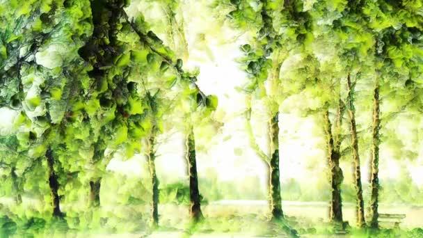 Varázslatos zöld háttér