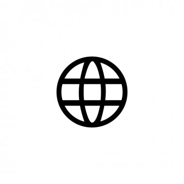 World wide web icon. Graphic elements for your design icon