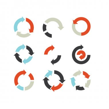 Arrows pack icon vector. symbol for web flat design icon