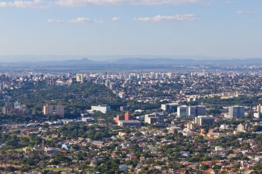 Porto Alegre city view