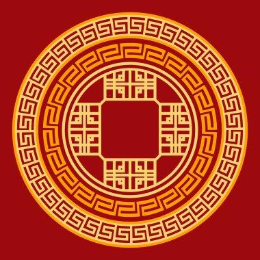 Vector Oriental Design Element
