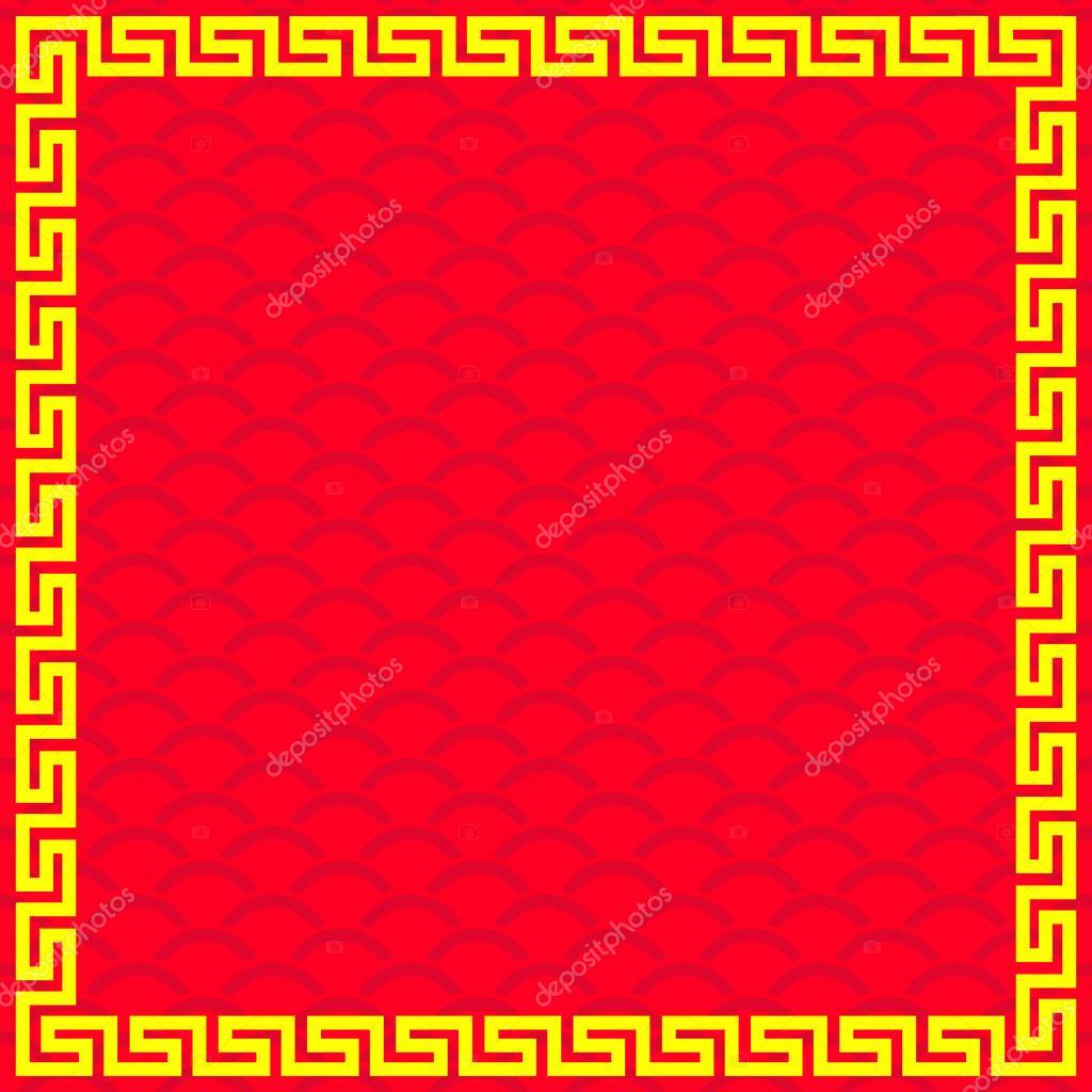 marco chino — Vector de stock © comzeal #82358324