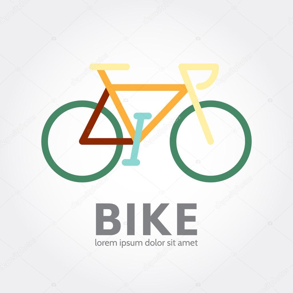 Bike logo design logotype of bicycle concept icon stock vector bike logo design logotype of bicycle concept icon stock vector biocorpaavc Images