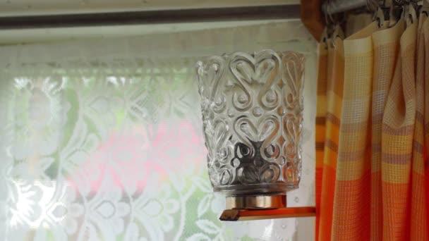 Starý styl lampa a vypnutí