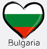 Fotografie Love Bulgarian flag