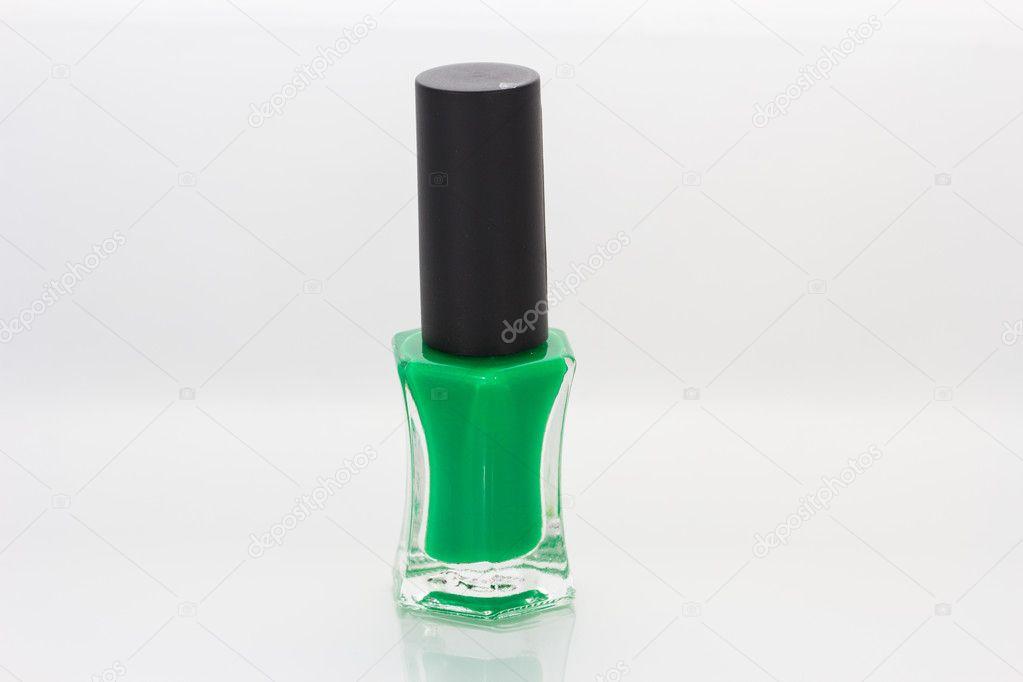 esmaltes de uñas verdes — Fotos de Stock © torsak #97414264