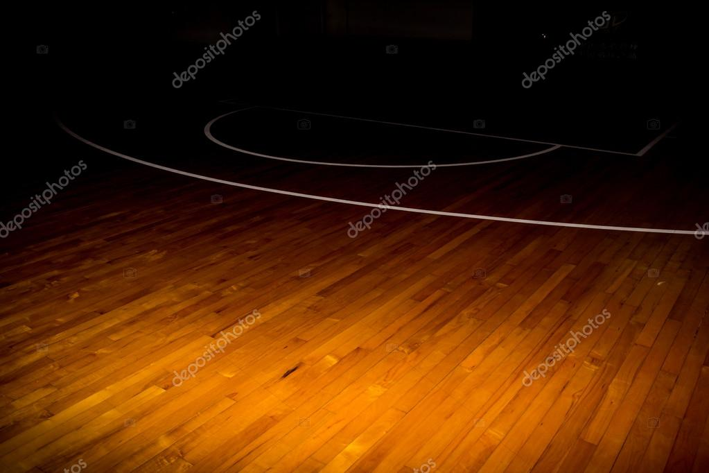 Wooden Floor Basketball Court Stock Photo Torsak 97626290