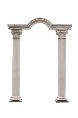 Columns and Arch isolated