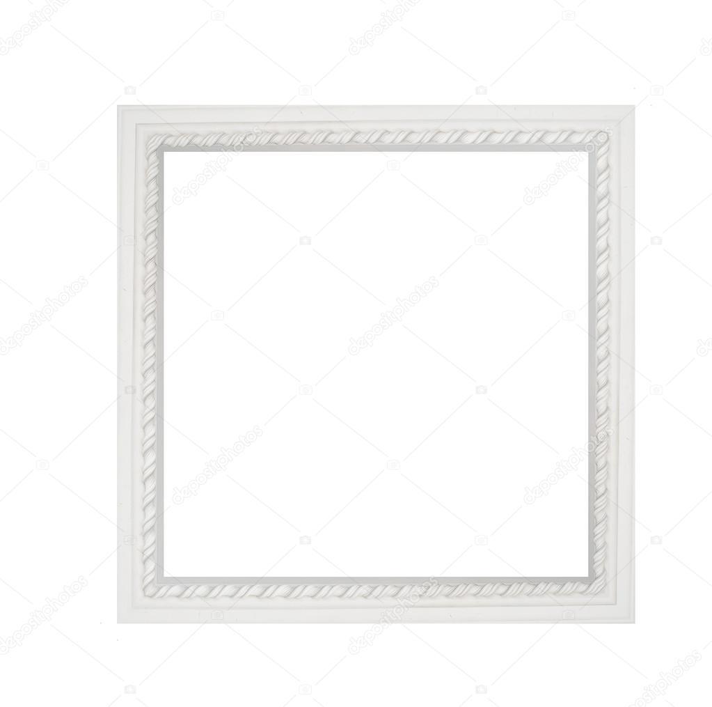 moldura marco cuadrado blanco arquitectura — Foto de stock © timonko ...