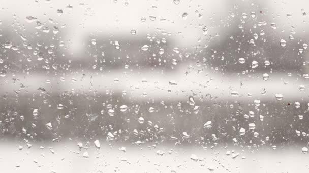 rozmazané pohled z okna