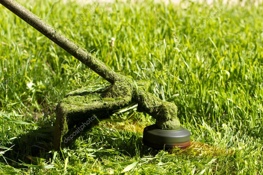 grass trimmer cuts
