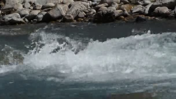 Pure water in a mountain stream