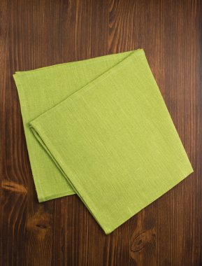 Cloth napkin background