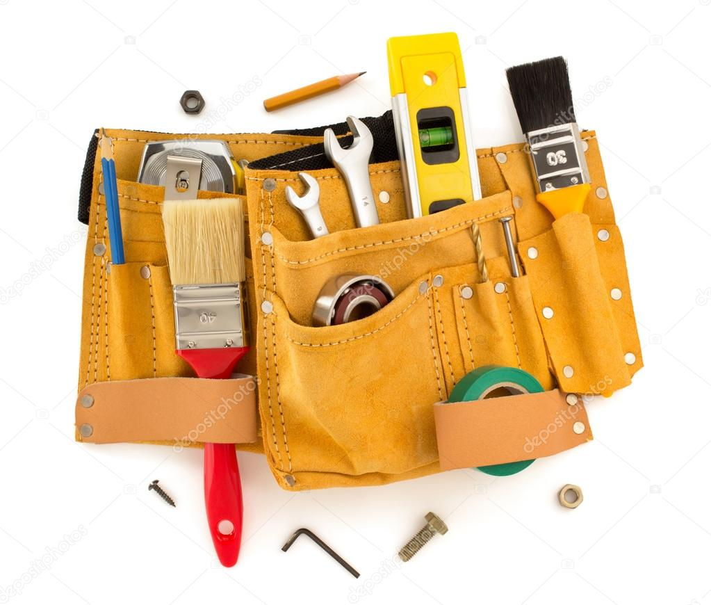 tools and instruments in belt