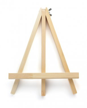 aged Wooden easel