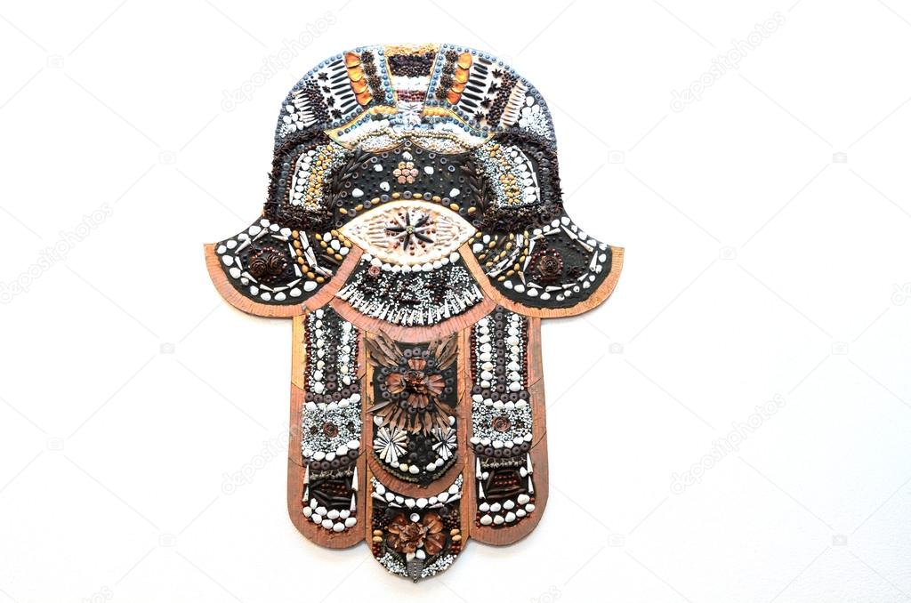 Hamsa Hand Ward Off The Evil Eye Symbol Stock Photo Lucidwaters