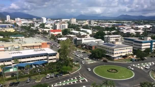 Aerial landscape view of Cairns Queensland Australia