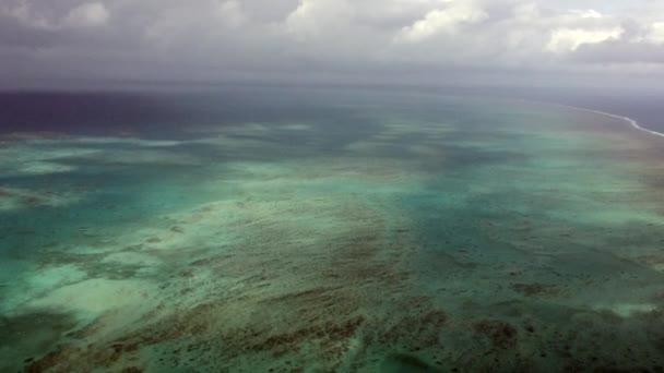 Aerial view of Great Barrier Reef Queensland Australia