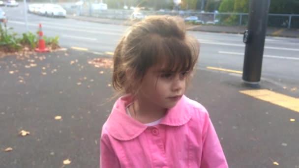 Ztracené dítě ztracené v ulici