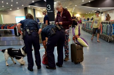 Biosecurity in Auckland international Airport