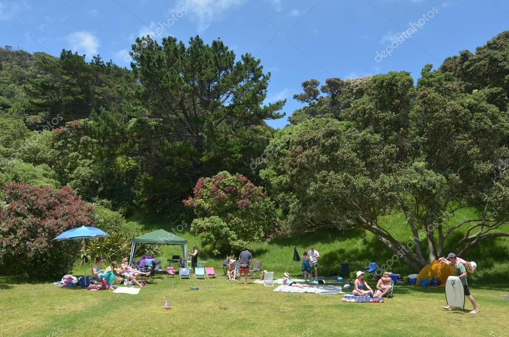 Muriwai beach - New Zealand
