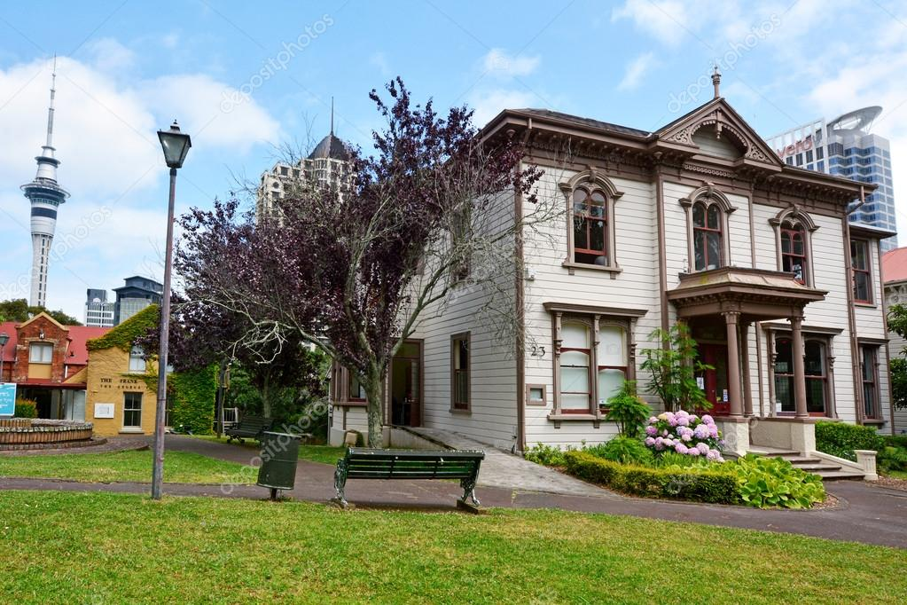 Victorian merchant house in Auckland NZL