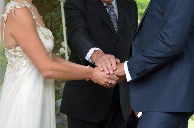 Wedding ceremony -exchange of wedding vows