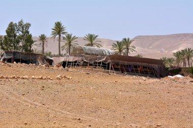 Bedouin tent in Israel