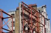 Fotografia Fronte di ricorso vecchio edificio in Oxford street a Londra, Regno Unito