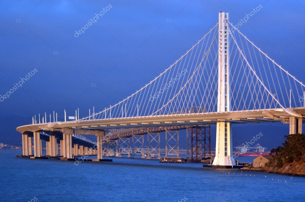 New Oakland Bay Bridge in San Francisco - California