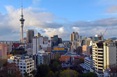 Aerial view of Auckland skyline - New Zealand
