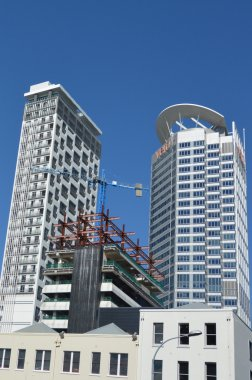 New apartment buildings in Auckland downtown - New Zealand