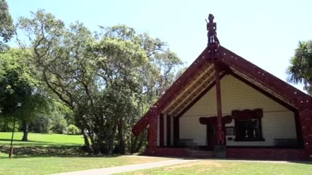 Maori épület Waitangi