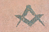 Fotografie Freemasonry symbol