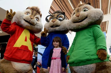 The Chipmunks characters