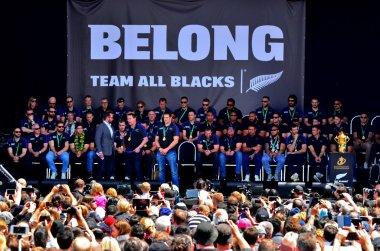 All Blacks coach Steve Hansen and Richie McCaw