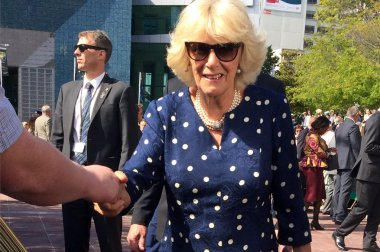 Duchess of Cornwall visit to Auckland New Zealand