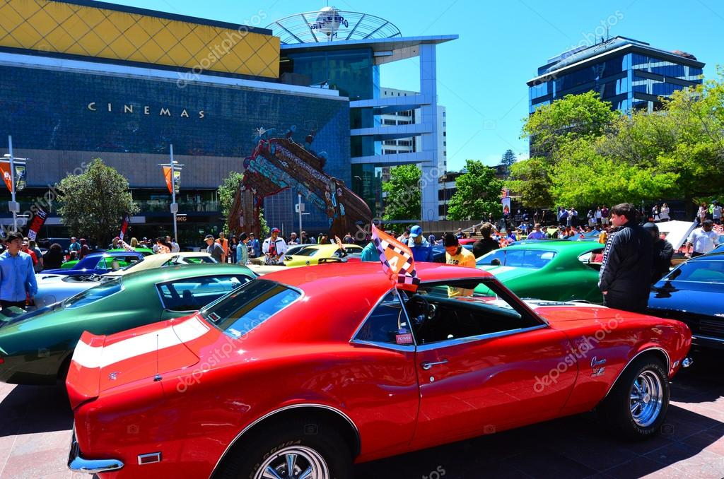 US muscle cars V8 car show – Stock Editorial Photo © lucidwaters ...