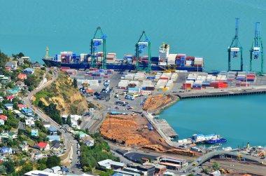 Lyttelton Port of Christchurch - New Zealand