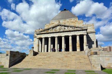 Shrine of Remembrance In Melbourne Australia