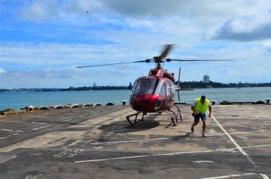 Helicopter landing pad helipad