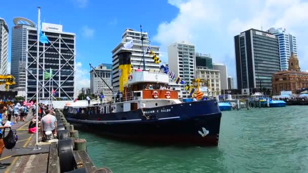 Steam Tug William C Daldy cruise in Ports of Auckland